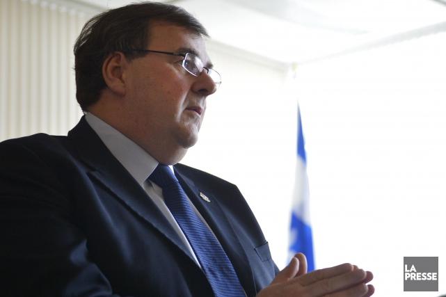 Contrairement au souhait de son prédécesseur, le ministre... (Archives La Presse)