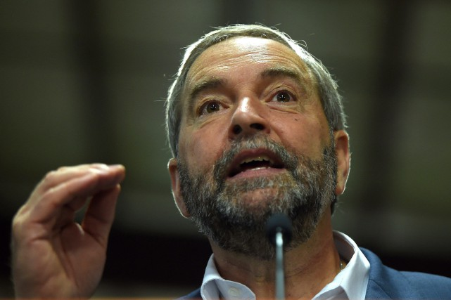 Le chef du NPD, Thomas Mulcair... (Photo Sean Kilpatrick, archives PC)