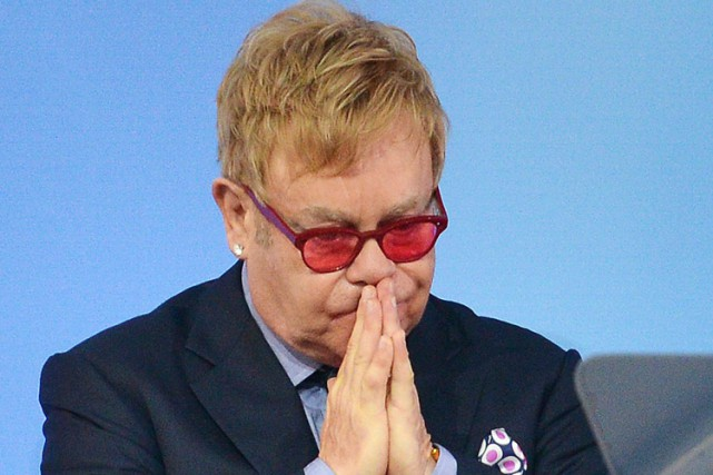 Elton John... (ARCHIVES AFP)