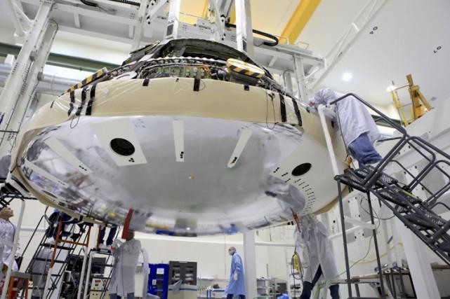 Orion est un véhicule spatial conçu pour transporter... (PHOTO REUTERS)