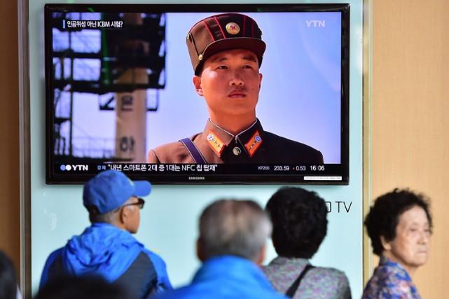 La Corée du Nord avait annoncé mardi le... (PHOTO AFP)