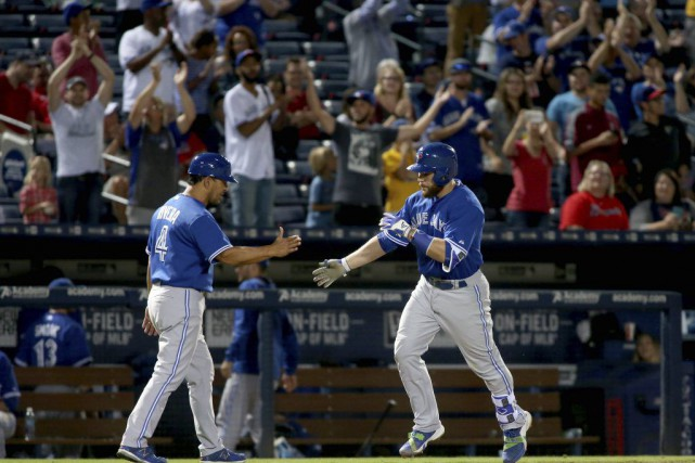 Les Blue Jays ont conservé leur avance de... (Photo USA Today Sports)