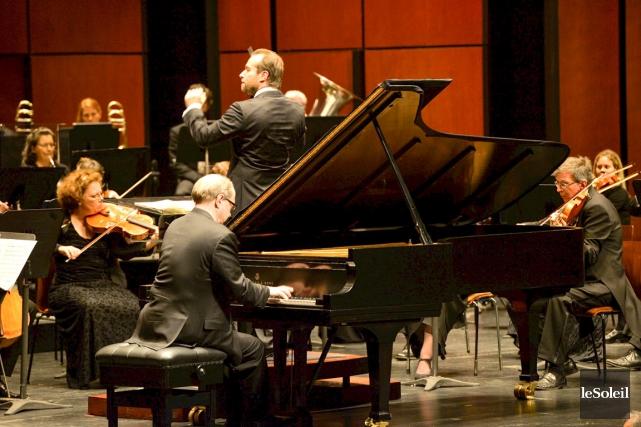 Le pianiste Marc-André Hamelin a excellé dans sa... (Photothèque Le Soleil, Caroline Grégoire)