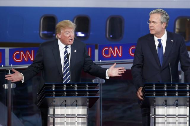 Après un début axé essentiellement sur Donald Trump,... (PHOTO REUTERS)