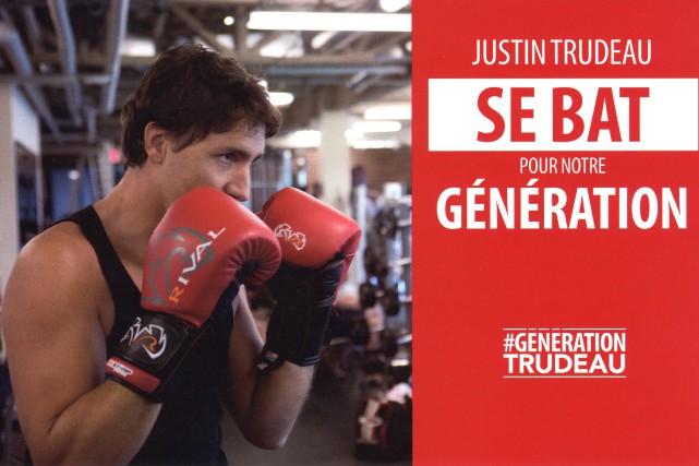 Le Parti libéral du Canada distribue présentement une... (Photo fournie par le Parti libéral du Canada)