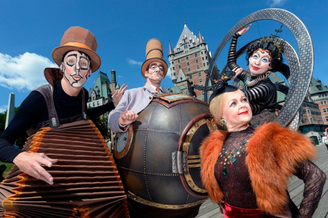 Les artistes deKURIOS - Cabinet des curiosités (Cirque... (Le Soleil, Erick Labbé)
