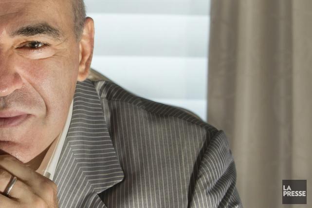 Garry Kasparoven tête-à-tête avec La Presse,à Montréal, le... (PHOTO IVANOH DEMERS, LA PRESSE)