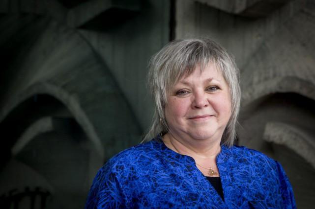 La directrice générale des Mosaïcultures internationales, Lise Cormier,... (Photo Alain Roberge, La Presse)