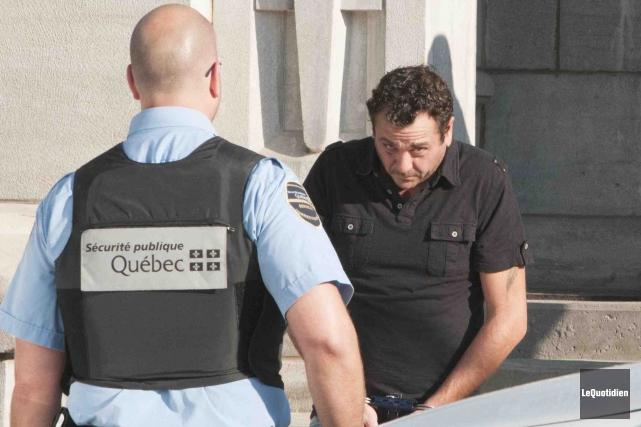 Yves Martin, accusé d'avoir tué trois personnes alors... (Photo Le Quotidien, Michel Tremblay)