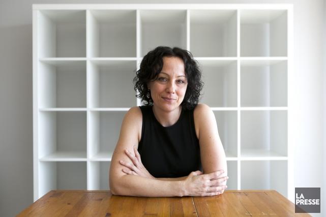 L'auteure Claudine Dumont adore les romans d'horreur, «pour... (François Roy, La Presse)