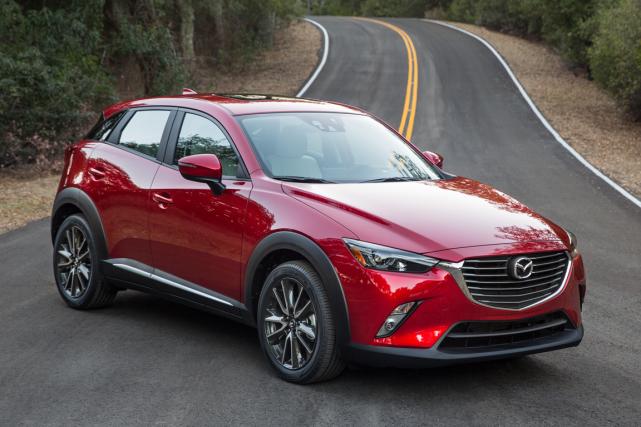 Le CX-3 se fait un devoir d'en mettre... (Photo fournie par Mazda)