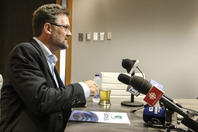 Le maire de Gatineau, Maxime Pedneaud-Jobin,estime qu'un nouveau... (Patrick Woodbury, LeDroit)