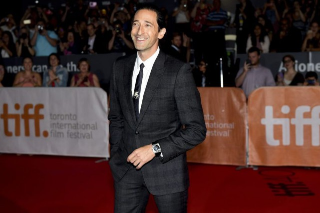 Adrien Brody sur le tapis rouge du film... (PHOTO LA PRESSE CANADIENNE)