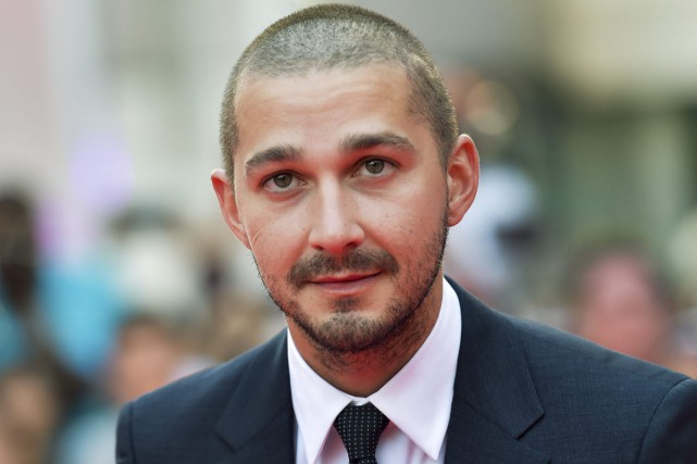 Shia LaBeouf... (PHOTO LA PRESSE CANADIENNE)