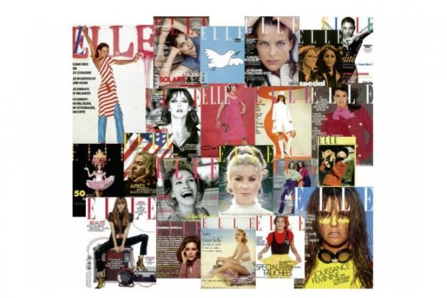 Le magazine Elle, qui fêtera le 21 novembre son 70e anniversaire,... (PHOTO SITE INTERNET DU MAGAZINE)