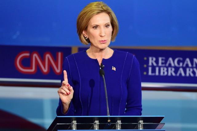 Candidate aux primaires républicaines, Carly Fiorina est aux... (Archives AFP, Frederic J. Brown)