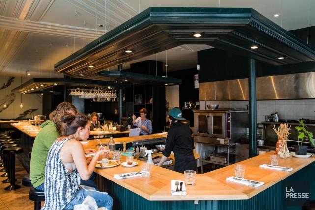 Le restaurant Lili.Co... (PHOTO ÉDOUARD PLANTE-FRÉCHETTE, ARCHIVES LA PRESSE)