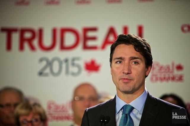 Le chef libéral serait placé deuxième, avec 35%... (Photo André Pichette, archives La Presse)