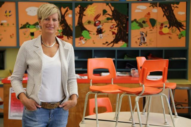 Enseignante et mère de trois enfants, Julie Bazinet croit qu'il est...