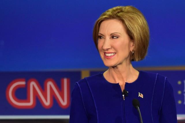 Inconnue il y a quelques jours, la républicaine... (Photo AFP, FREDERIC J. BROWN)