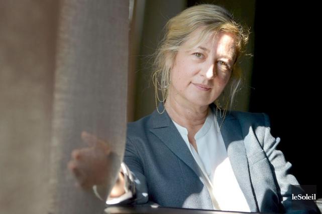 Directrice et conservatrice en chef du Musée d'art... (Le Soleil, Yan Doublet)