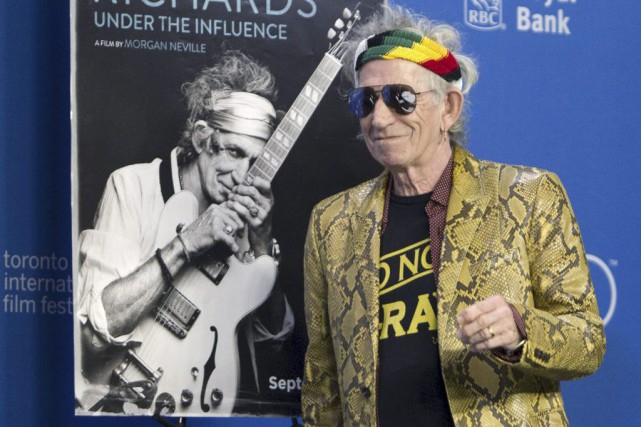 Le guitariste des Rolling Stones au Festival international... (Reuters)