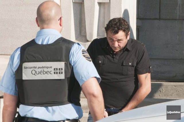 Yves Martin, le chauffard du rang Saint-Paul à... ((Photo Le Quotidien, Michel Tremblay))