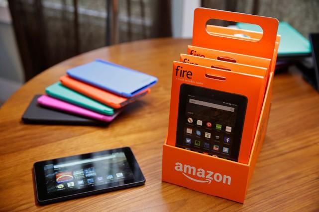 WASHINGTON - Face aux dernières nouveautés d'Apple, Amazon cherche à séduire... (AP, Eric Risberg)