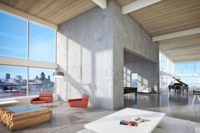Cette image intérieure n'est qu'une suggestion d'aménagement conçue... (Images fournies par Sotheby's)