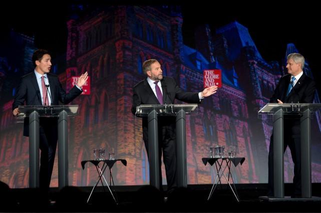 Alors que Stephen Harper a dû défendre un... (Photo La Presse Canadienne)