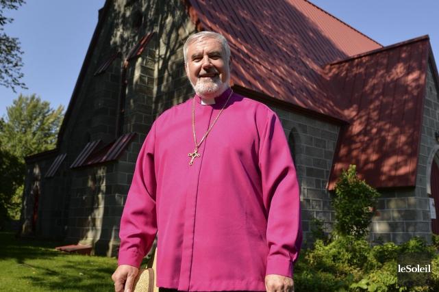 L'évêque du diocèse de Québec de l'Église anglicane,... (Le Soleil, Caroline Grégoire)