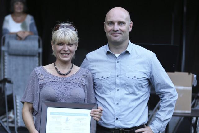 Suzon Baron a remporté le prix Coup de... (photo Catherine Trudeau)