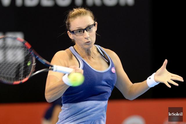 Mirjana Lucic-Baroni a vaincu Tamira Paszek en deux... (Le Soleil, Jean-Marie Villeneuve)