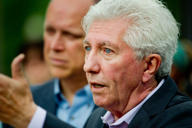 Le chef du Bloc québécois Gilles Duceppe a... (PHOTO MARCO CAMPANOZZI, ARCHIVES LA PRESSE)
