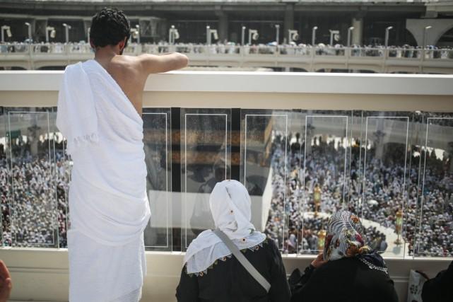 Quelque 1,4 million de fidèles sont attendus de... (PHOTO MOSA'AB ELSHAMY, ARCHIVES AP)