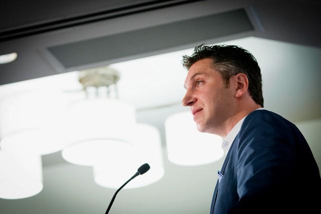 C'est la toute première fois que David Baazov... (Photo Alain Roberge, Archives La Presse)