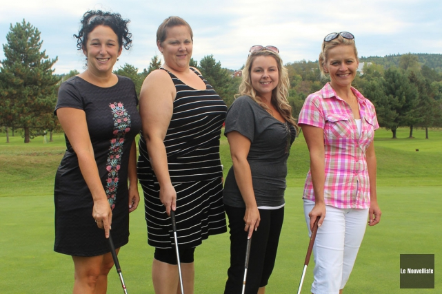 Le premier tournoi de golf de la CCIHSM... (Photo: Audrey Tremblay, Le Nouvelliste)