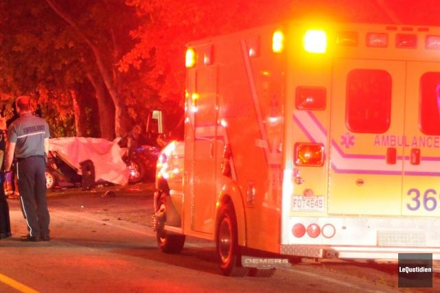 Un dépassement téméraire est à l'origine d'un accident qui a fait deux morts et... (Archives Le Quotidien)