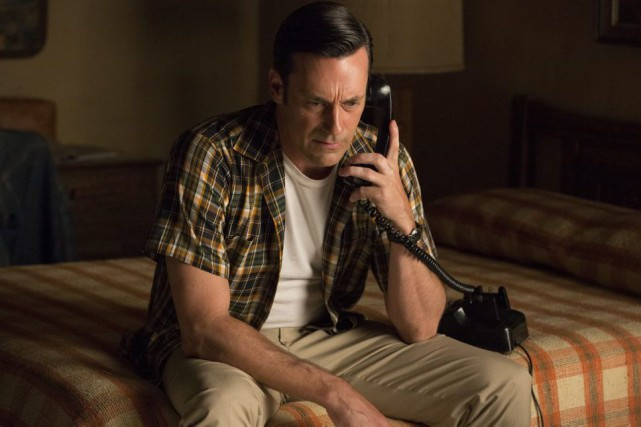 Jon Hamm incarne Don Draper dans Mad Men.... (PHOTO AP)