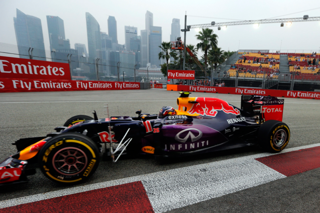 grand prix de singapour daniil kvyat cr e la surprise f1. Black Bedroom Furniture Sets. Home Design Ideas