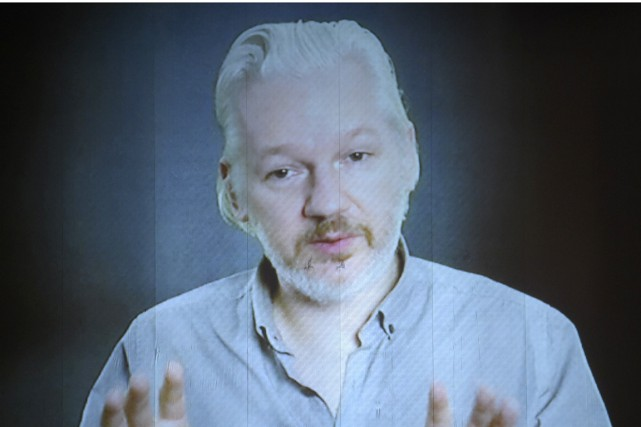 Julian Assange... (PHOTO ARCHIVES AFP)