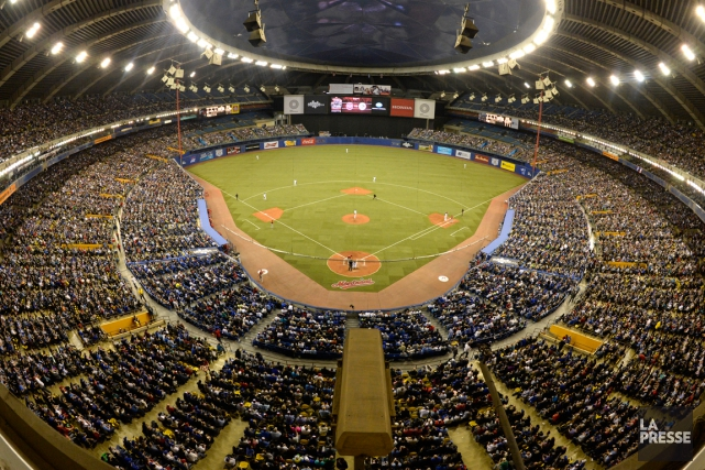 Montréal accueillera deux matchs préparatoires du baseball majeur... (Photo Bernard Brault, archives La Presse)