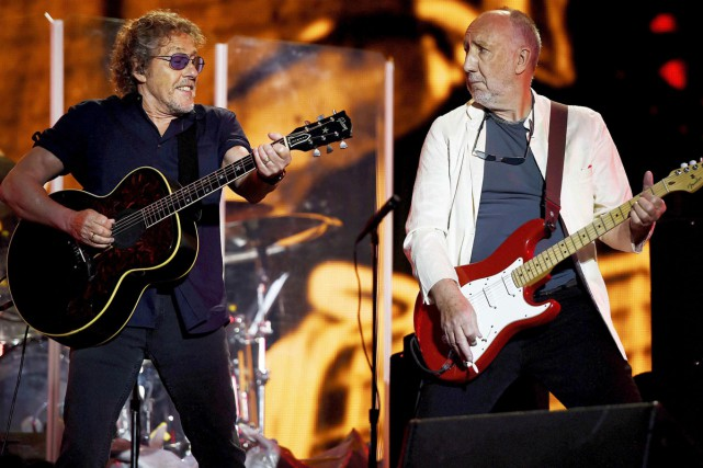 Roger Daltrey et Peter Townshend du groupe The... (PHOTO ARCHIVES REUTERS)