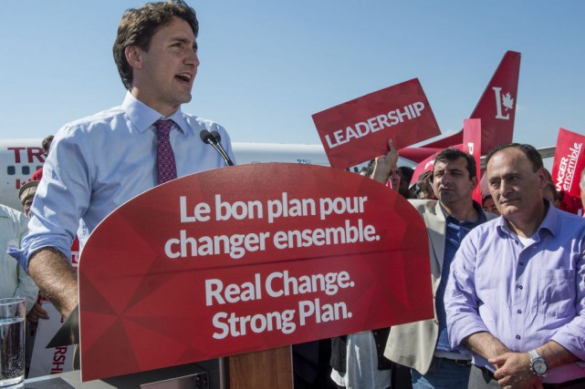Justin Trudeau... (PHOTO Paul Chiasson, PC)