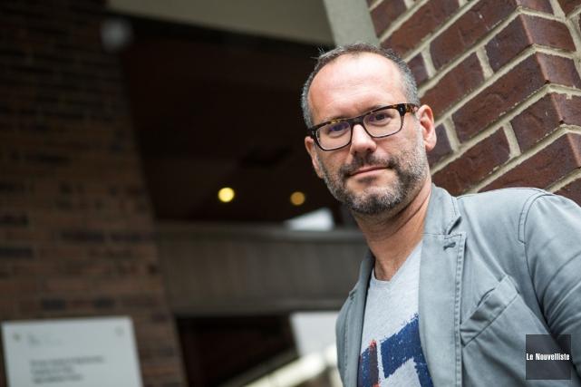 Marc-André Dowd signe la mise en scène de... (Photo: Olivier Croteau, Le Nouvelliste)