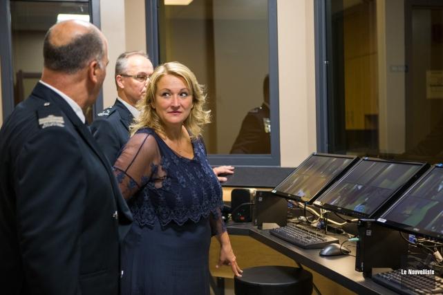 La vice-première ministre et ministre de la Sécurité... (Photo: Olivier Croteau, Le Nouvelliste)