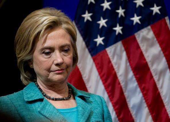 L'ancienne secrétaire d'État Hillary Clinton, désormais candidate à... (PHOTO CAROLYN KASTER, ASSOCIATED PRESS)