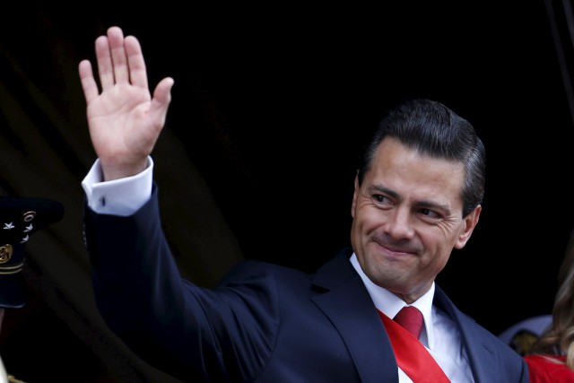 Le président mexicain, Enrique Peña Nieto... (Photo Edgard Garrido, Reuters)
