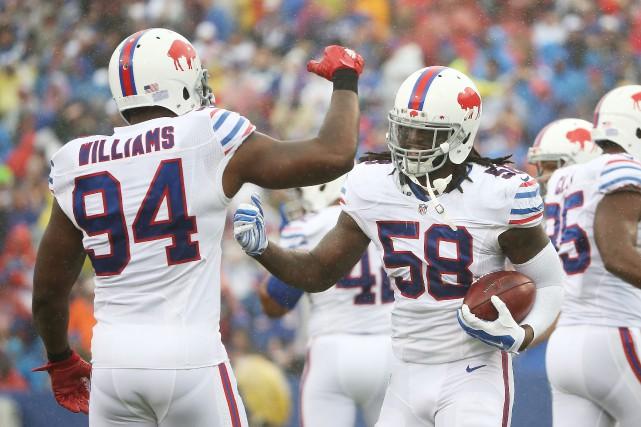 Les Bills semblent outillés pour goûter aux séries... (Photo: Agence France-Presse)