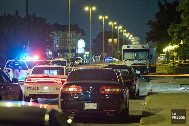 Des citoyens qui ont entendu plusieurs coups de... (PHOTO FÉLIX O.J. FOURNIER, COLLABORATION SPECIALE)